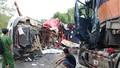 Hai container tông nhau trên đường Hồ Chí Minh 2 người chết, 1 người bị thương