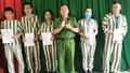 21 phạm nhân tại trại tạm giam Hà Tĩnh được giảm án và tha tù trước thời hạn
