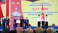 Phó Chủ tịch nước Đặng Thị Ngọc Thịnh dự lễ kỷ niệm 100 năm thành lập và trao Huân chương Độc lập hạng Nhì cho trường Quốc học Vinh