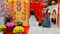 Tết 'thu nhỏ' trong các quán cà phê thành Vinh