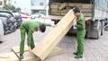 Bắt xe tải chở 10m³ gỗ không rõ nguồn gốc