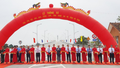 Thủ tướng dự Lễ thông xe cầu Cửa Hội bắc qua sông Lam nối Nghệ An và Hà Tĩnh