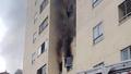 Căn hộ chung cư tại Nghệ An bốc cháy, cư dân hoảng loạn tháo chạy