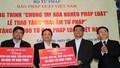 """Báo Pháp luật Việt Nam với Chương trình """"Chung tay xóa nghèo pháp luật"""": Sáng kiến hay tạo sự lan tỏa lớn"""