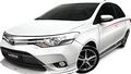 Toyota Việt Nam giới thiệu Vios TRD 2017 với phiên bản màu trắng duy nhất
