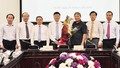 Bộ Tư pháp chúc mừng tân Bộ trưởng Lê Thành Long