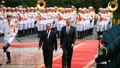 Toàn cảnh lễ đón chính thức Thủ tướng Singapore tại Phủ Chủ tịch