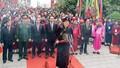 Chủ tịch nước thành kính dâng hương tưởng niệm các vua Hùng