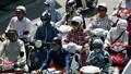 Cảnh sát cảnh báo nguy cơ tai nạn giao thông do áo chống nắng