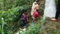 Ô tô chở 5 người lao từ đèo xuống vực sâu 100m