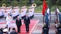 Tổng Bí thư, Chủ tịch nước Nguyễn Phú Trọng hội đàm Tổng thống Argentina Mauricio Macri