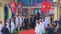 Đội an ninh Triều Tiên tới ga Đồng Đăng