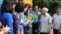 Hình cảnh Tổng Bí thư, Chủ tịch nước gặp mặt đại biểu công đoàn tiêu biểu