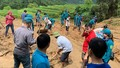 Lở đất ở Hoàng Su Phì, 1 người chết, 3 người bị thương