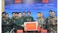 Bộ Quốc phòng Việt Nam hỗ trợ quân đội các nước gần 19 tỷ đồng thiết bị phòng dịch