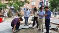 Bắt đầu kiểm tra lát đá vỉa hè tại nhiều quận, huyện Hà Nội