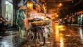 Ảnh hưởng không khí lạnh, Hà Nội mưa dông tới khi nào?