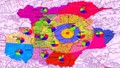 Viễn thám trong quản lý đất đai, quy hoạch và xây dựng qua ứng dụng GIS