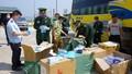 Bắt gần 30.000 khẩu trang y tế từ Việt nam đưa sang Lào tiêu thụ