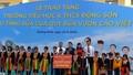 Chủ tịch Quốc hội Nguyễn Thị Kim Ngân dự Lễ trao tặng trường Tiểu học và THCS Đồng Sơn tại Quảng Ninh.
