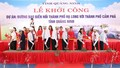 Lễ khởi công Dự án đường bao biển hơn nghìn tỷ nối hai thành phố lớn của Quảng Ninh