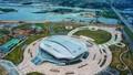 Nhà thi đấu được mệnh danh 'Thần rùa' ở Quảng Ninh