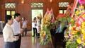 Nhiều địa phương tổ chức lễ tưởng niệm 50 năm ngày mất Chủ tịch Hồ Chí Minh