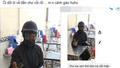 Công an theo dõi người mặt đen cầm đầu gà, xúc xích đi xin tiền ở Hà Nội