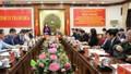 Đoàn công tác phòng chống tham nhũng làm việc tại Thanh Hóa