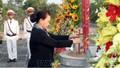Chủ tịch Quốc hội dâng hương viếng các Liệt sĩ