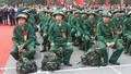 Hôm nay (10/2), tân binh 12 tỉnh, thành lên đường nhập ngũ