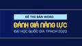 Mạo danh Đại học Quốc gia TP HCM bán đề thi đánh giá năng lực