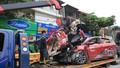 Vụ container đè bẹp xe con: Các nạn nhân đi lễ ngày rằm