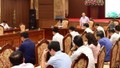 Hà Nội sẽ thành lập 5 tổ kiểm tra giám sát liệt kê các vướng mắc, khó khăn