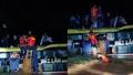 Giải cứu 20 người trên xe khách bị lũ cuốn trong đêm