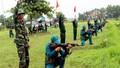 Xây dựng lực lượng dân quân tự vệ vững mạnh, rộng khắp
