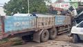 Tin giao thông đến sáng 14/3: Hai xe container đấu đầu, xe cẩu tông sập cửa hàng tạp hóa