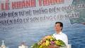 Thủ tướng bật cầu dao đóng điện cáp ngầm cho đảo Lý Sơn