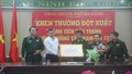 Thưởng 'nóng', tặng thiết bị 'đánh án' hàng trăm triệu cho BĐBP Đà Nẵng
