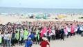 1.500 tân sinh viên chung tay kêu gọi bảo vệ môi trường biển Đà Nẵng