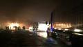 Cháy ô tô, đường tránh nam Hải Vân tắc nghẽn nhiều giờ