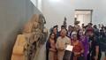 Hình ảnh Tổng thống Ấn Độ và Phu nhân thăm Bảo tàng Điêu khắc Chăm và Thánh địa Mỹ Sơn