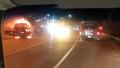 Xe tải bốc cháy trên đường dẫn vào hầm Hải Vân