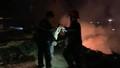 Đà Nẵng: Cháy lớn kéo dài nhiều giờ trên bán đảo Sơn Trà