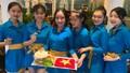 Tô mì Quảng 'siêu to khổng lồ' cổ vũ Việt Nam trước trận cầu lịch sử