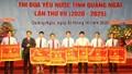 """PC Quảng Ngãi được tặng Cờ thi đua """"Đơn vị xuất sắc tiêu biểu trong phong trào thi đua yêu nước giai đoạn 2016 - 2020"""""""