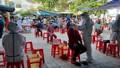 500 tiểu thương được lấy mẫu xét nghiệm do liên quan ca mắc Covid-19 đi chợ