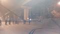 Truy tìm xe bê tông gây tai nạn tại công trường đường sắt trên cao