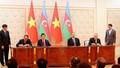 Chủ tịch nước Trương Tấn Sang hội đàm với Tổng thống Azerbaijan
