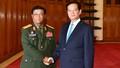Thủ tướng tiếp Tổng Tham mưu trưởng Quân đội Lào